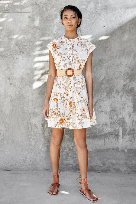 CHRISTY LYNN Lucie Dress - Ivory Desert Rose
