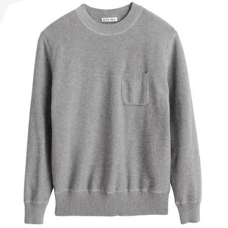 Alex Mill Revere Pocket Crewneck sweater - HEATHER GREY