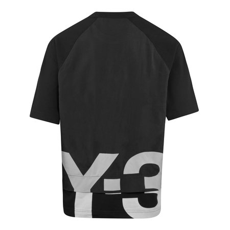 adidas Y-3 Shade Raw Terry GFX T-Shirt - Black
