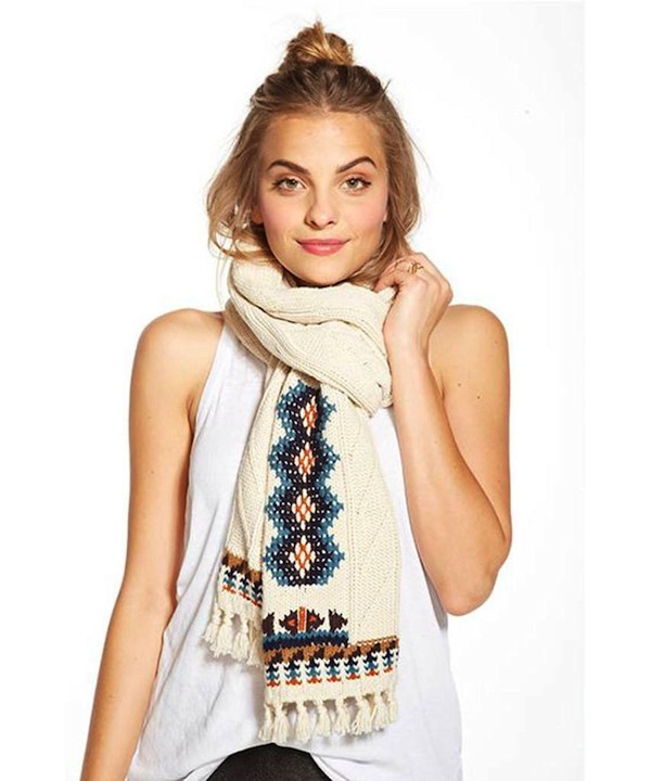 Chaser LA Campfire Fringed Scarf