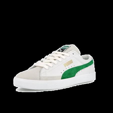 Puma Basket Men 374922-05 sneakers - vintage White/Amazon Green