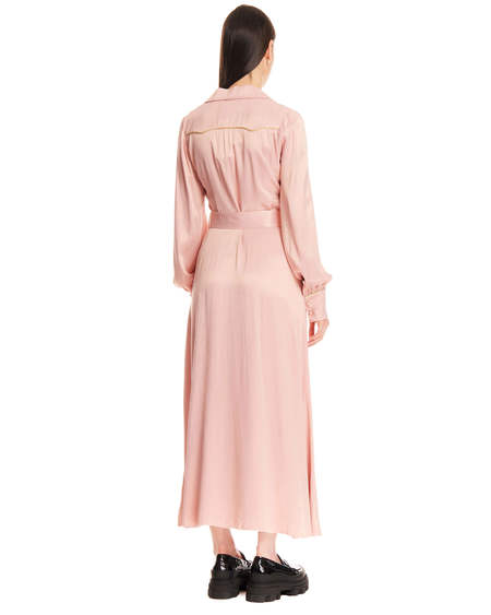 Rotate Long Jojo Dress - Pink