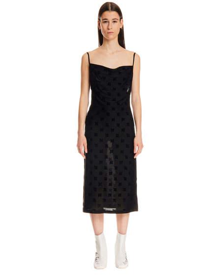 MISBHV Monogram Dress - Black