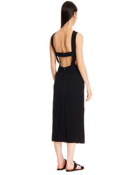 Rotate Long Dress - Black