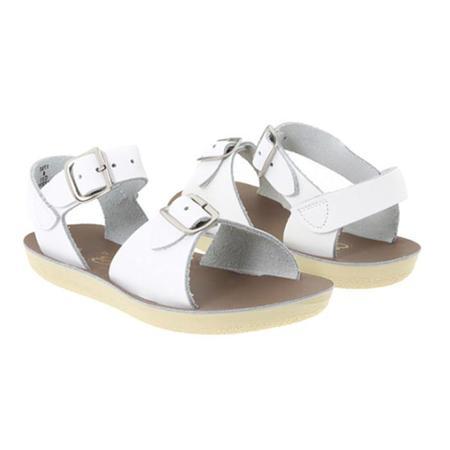 kids Saltwater Sandals Surfer Sandals - White