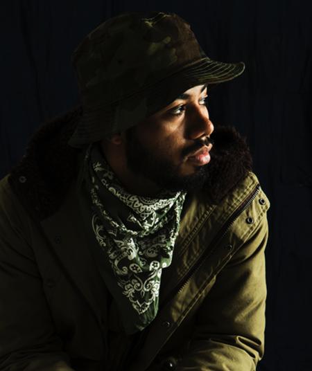 Sandinista MFG Bandana scarf - Olive