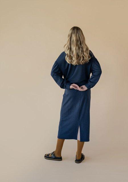 Vestige Story Discourse Skirt - Navy