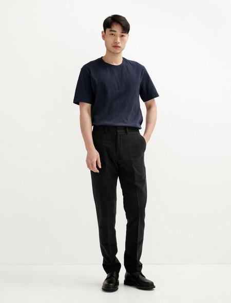 Sunspel Moleskin Trouser Nearly Black