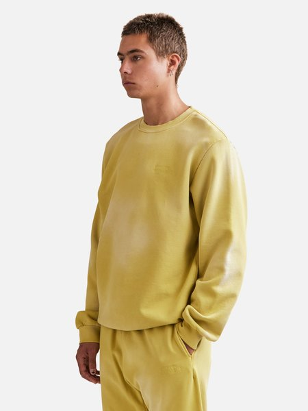 General Admission Sun Faded Crewneck sweater - Yellow