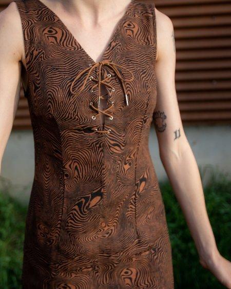 Paloma Wool Joey Linen Dress - Huella
