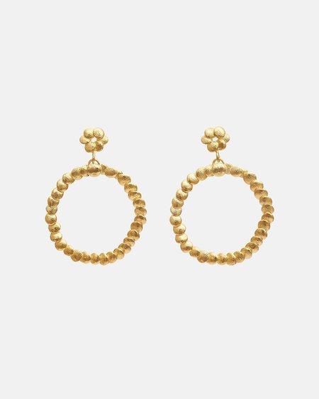 Yasmin Hackett Double Circle Earrings