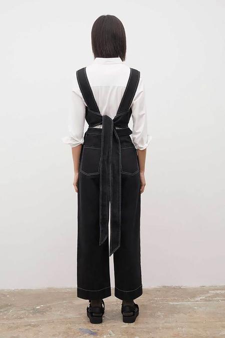 Kowtow Tokyo Jumpsuit - black