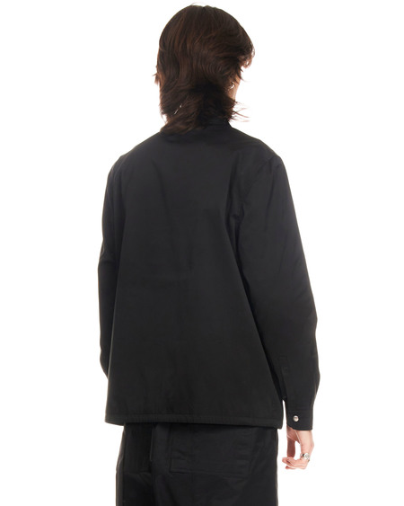 Rick Owens DRKSHDW Satin Effect Jacket - black
