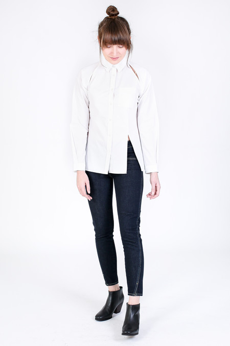 Silvae Olivier Blouse in White
