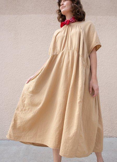 Atelier Delphine Dune Lihue Dress - yellow