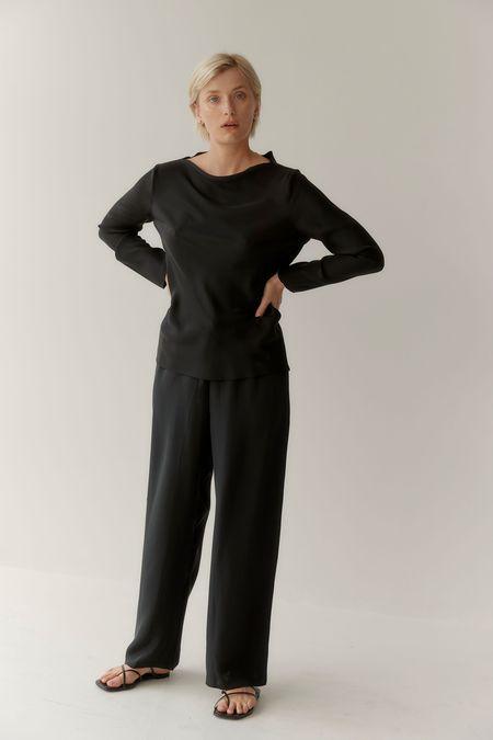Mina Yoli Top - Black