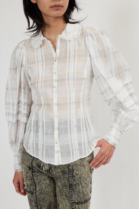 Ulla Johnson Circe Blouse - Blanc