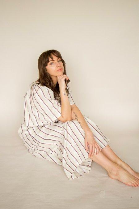 beaumont organic LESLEY Linen Dress - white