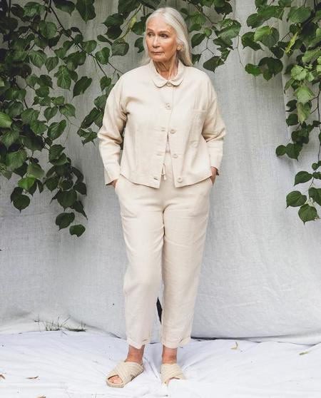 beaumont organic Kayley Trousers - cream