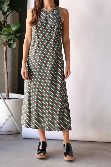 Raquel Allegra Anais Dress - Stripe