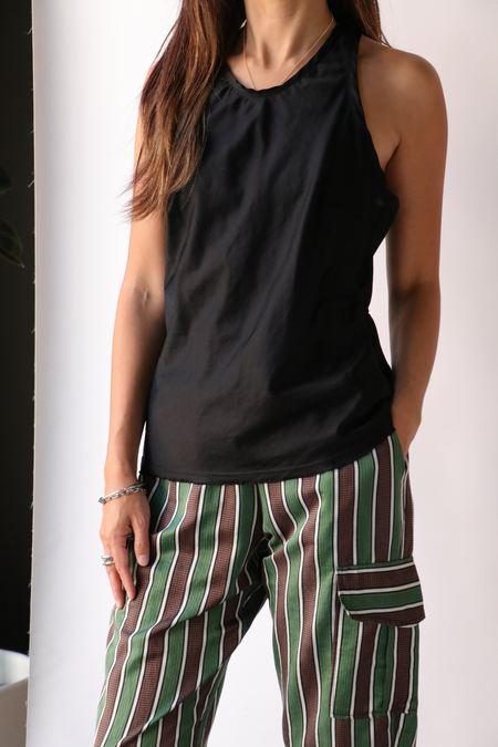 Raquel Allegra Anais Tank - Black
