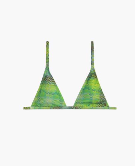 PALOMA WOOL Pamela Bikini Top - Green
