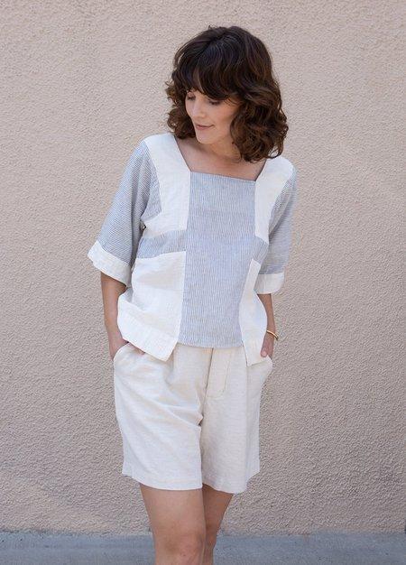 Atelier Delphine Block Top - Stripe