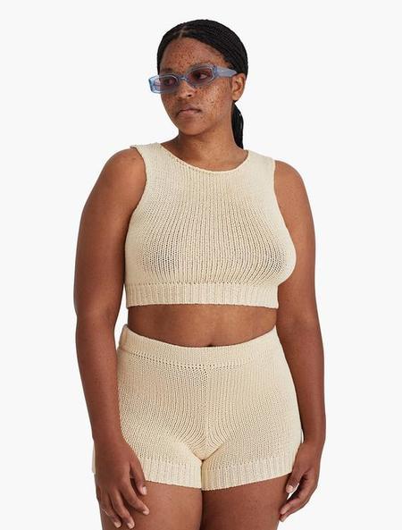 Paloma Wool Jigglypuff Knit Top - Ecru