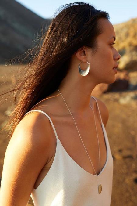 Marisa Mason Plains Earrings - Brass