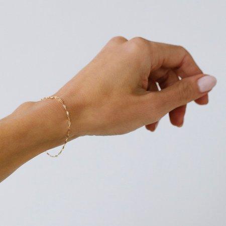 Leah Alexandra Shimmer Bracelet - 10K Gold