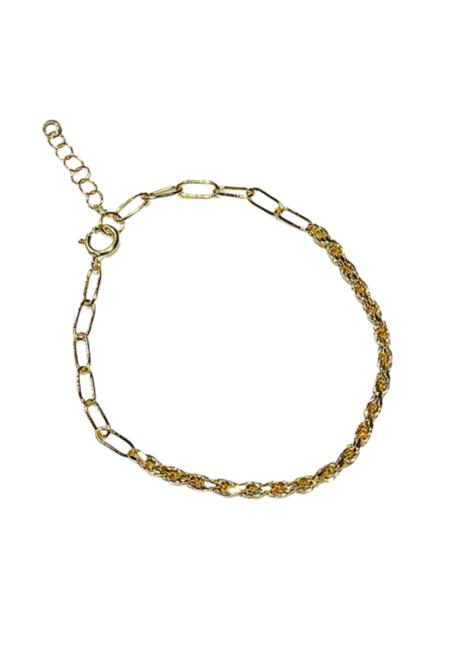 SS JEWELRY Rope Duo Bracelet