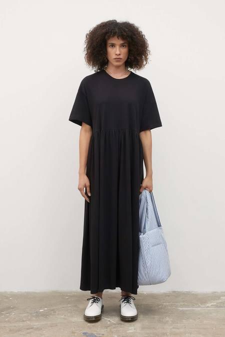 Kowtow Rib Panel Dress - black
