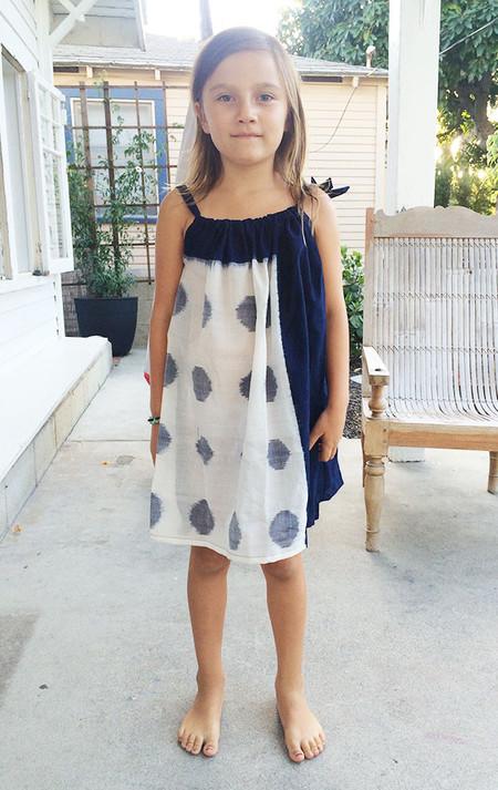 Kid's Two New York Kids Ikat Dress