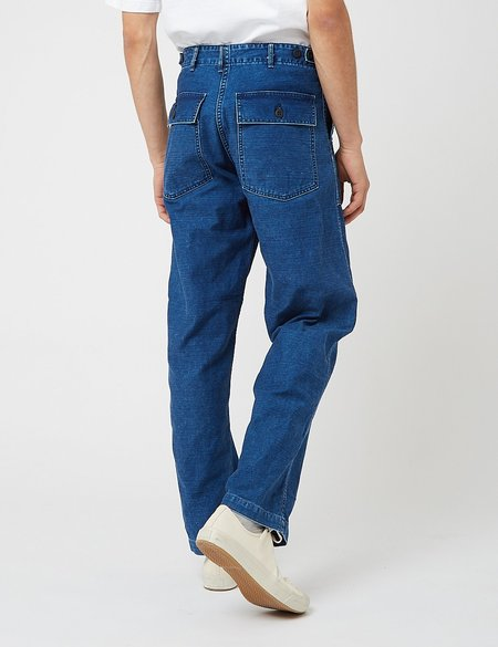 orSlow US Army Fatigue Regular Fit Pants - Navy Blue