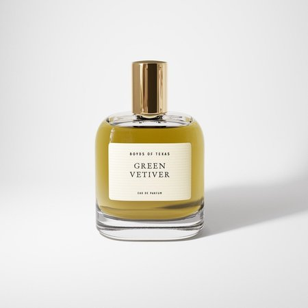Boyd's of Texas Green Vetiver Eau De Parfum