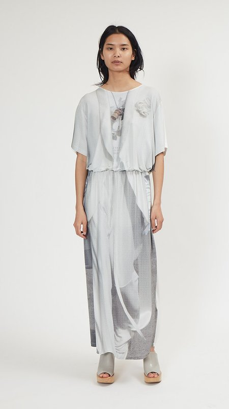 Maison Margiela Trompe L'œil Dress - White