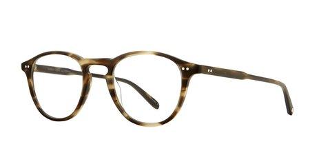unisex Garrett Leight Hampton 44 glasses - Brown