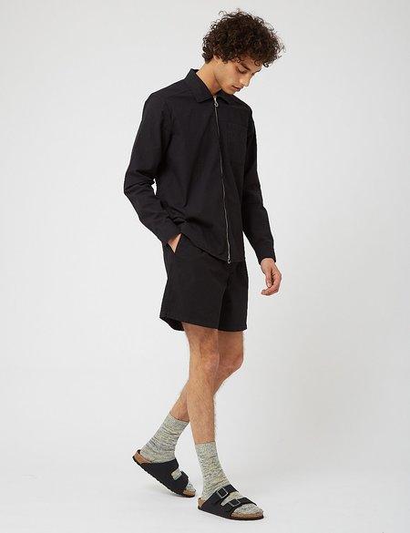 Bhode Zip Shirt - Black