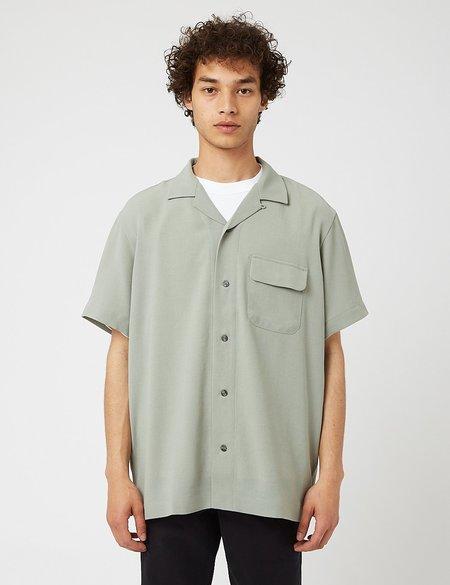 Snow Peak Quick Dry Crepe Weave Soft Shirt - green