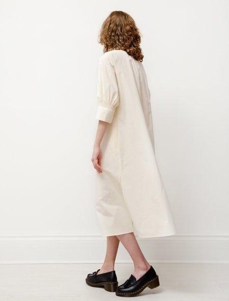 Studio Nicholson Knoll Dress - Milk White