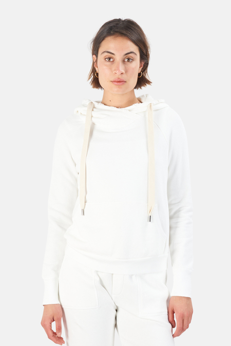 NSF Lisse Pullover Hoodie Sweater - White