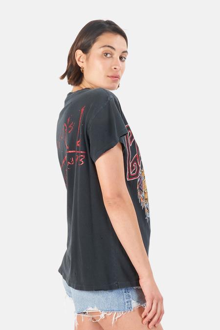 MadeWorn Rock Guns N' Roses Tokyo '93 T-Shirt - Coal Pigment