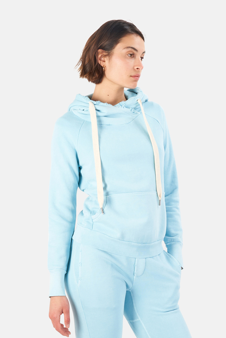 NSF Lisse Pullover Hoodie Sweater - Pigment Blue Curacao