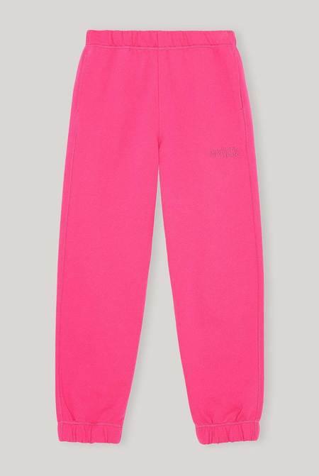 Ganni Software Isoli Elasticated Pants - Shocking Pink