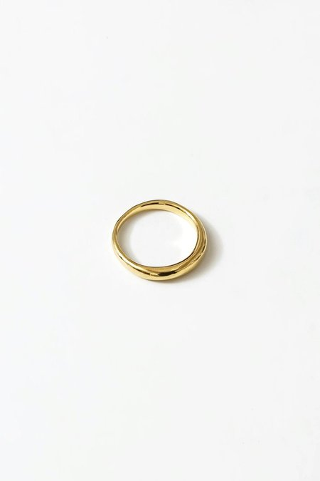 Wolf Circus Emeile Ring - 14k Gold Plated Bronze