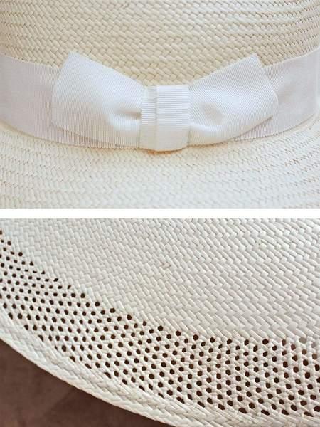 Lola Plaster Hat - bleached