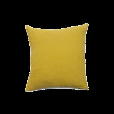 Hawkins New York Simple Linen Pillow - Mustard
