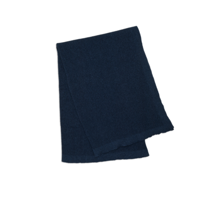 Hawkins New York Simple Oversized Knit Throw - Navy