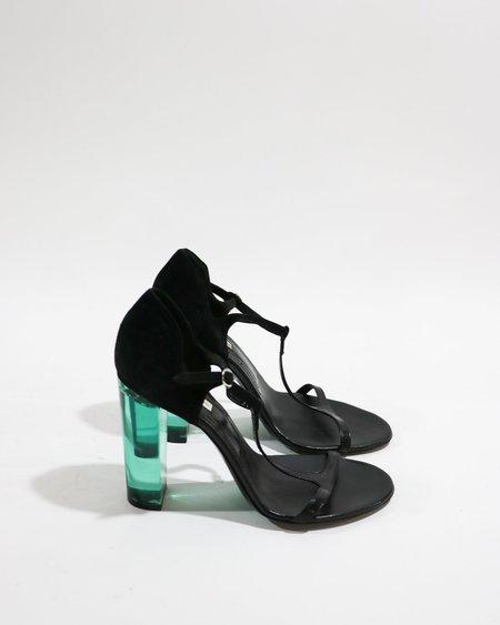 [Pre-loved] Dries Van Noten Lucite Heel Sandals
