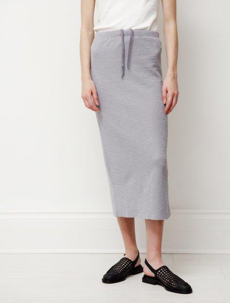 Our Legacy Rib Tube Skirt - Sulphur Blue Layer